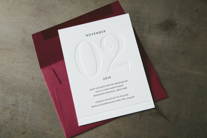 Letterpress Printing on Flurry Cotton